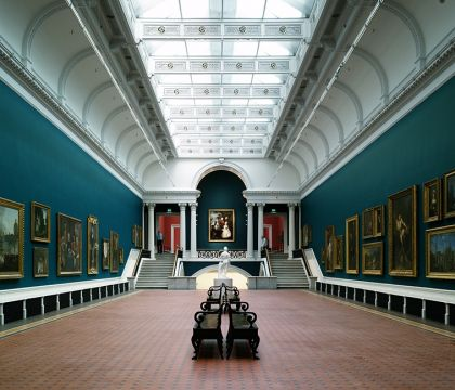 Delfts Daglicht voor de heropende National Gallery of Ireland
