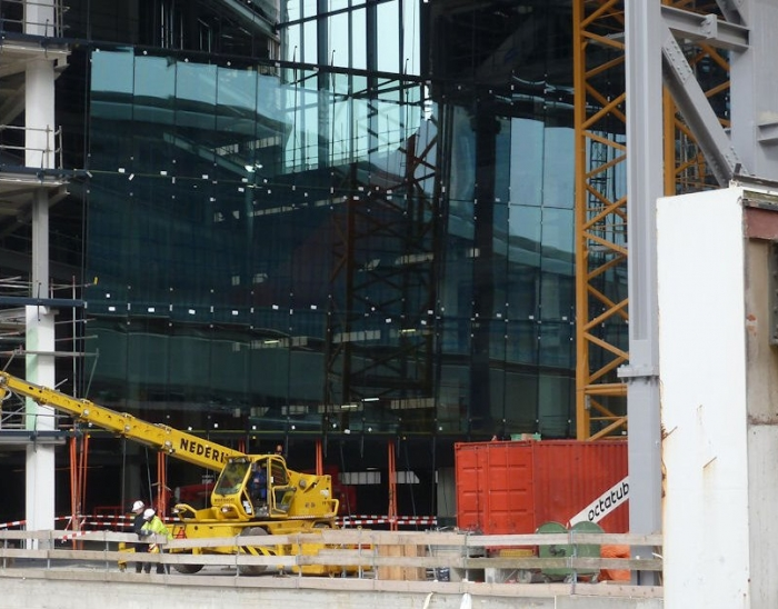Installation of Glass for City Offices