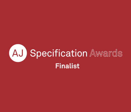 Octatube is nominated for the AJ Specification Awards!