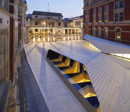 Octatube's second project for the V&A opened today