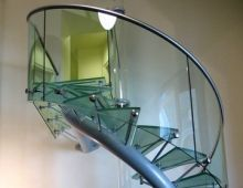 Glass Staircase The Hague
